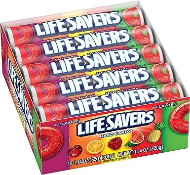 Life Savers Five Flavors Hard Candy, 1.14 Ounce (Pack of 20): Amazon.es: Alimentación y bebidas