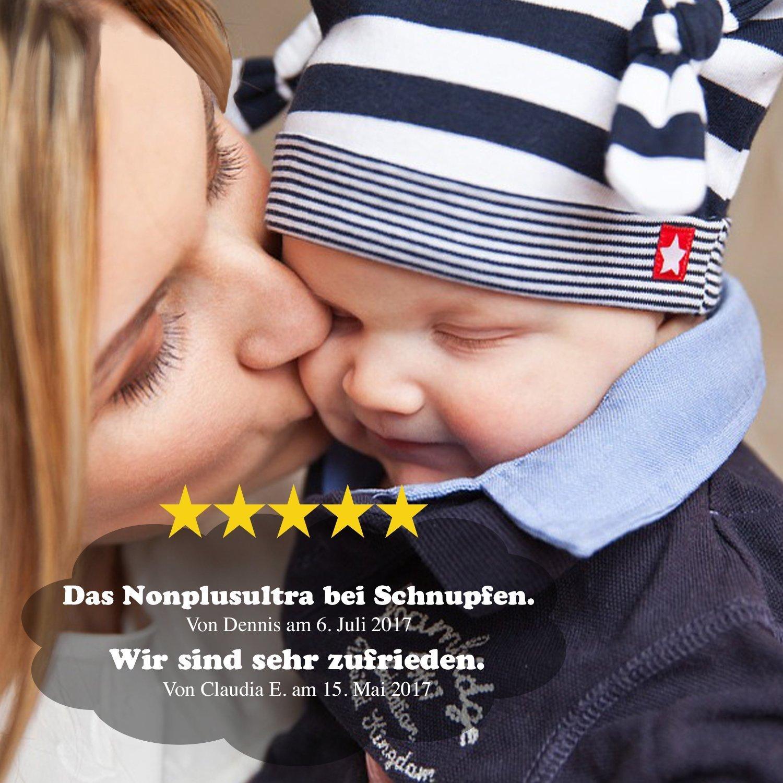 mouche-bébé manuel aspirateur nasal TALINU aspirateur de sécrétions nasales aspirateur nasal pour bébés eSpring GmbH avec 2 ans de garantie de satisfaction