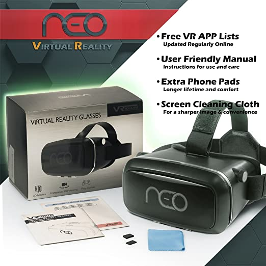 3d Virtual Reality Headset For Movies Games Multifocal Vr