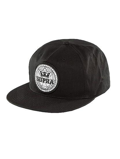 Supra Men Caps Snapback Cap Geo Patch Slider Black - 395014 Adjustable bdeddb11eb5d