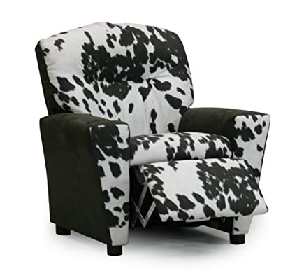 Toddler Upholstered Recliner, Childrenu0027s Reclining Armchair Cup Holder,  Chair That Reclines For Children,
