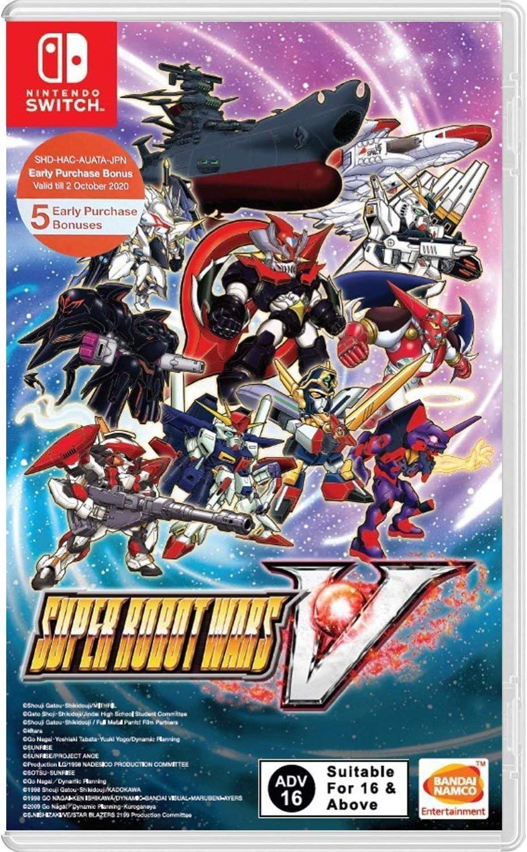 Namco Bandai Super Robot Wars V (Game in English) Nintendo Switch ...