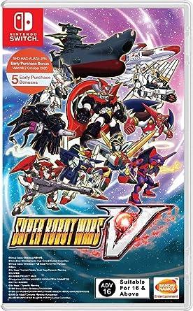 Namco Bandai Super Robot Wars V (Game in English) Nintendo ...