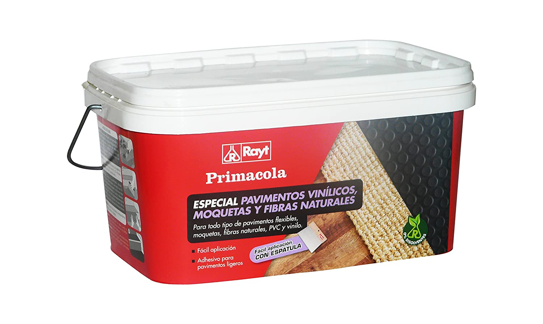 RAYT-PRIMACOLA PLUS C-10 - 524-23-Adhesivo acrí lico unilateral para revestimientos ligeros-aplicació n a espá tula -5 kg Laboratorios Rayt