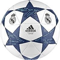 Adidas Finale 16 Real Madrid Capitano Balón de fútbol Blanco/Azul