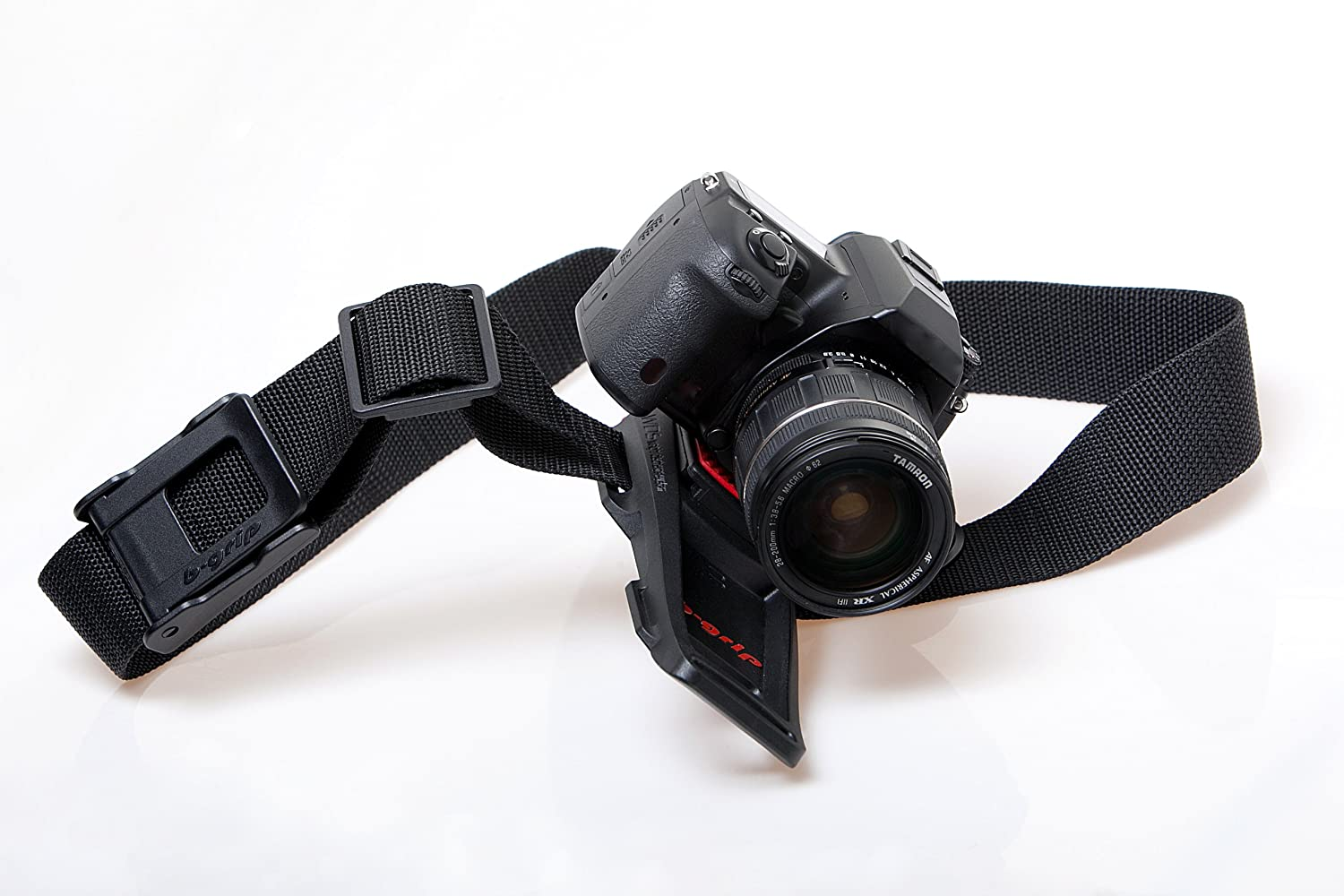 Buy B-Grip Camera Belt Holder (Black and Red) Online at Low Price in India   180276b1552e