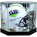 Perfect Cases Football Helmet Display Case - Octagon with Sport Moulding