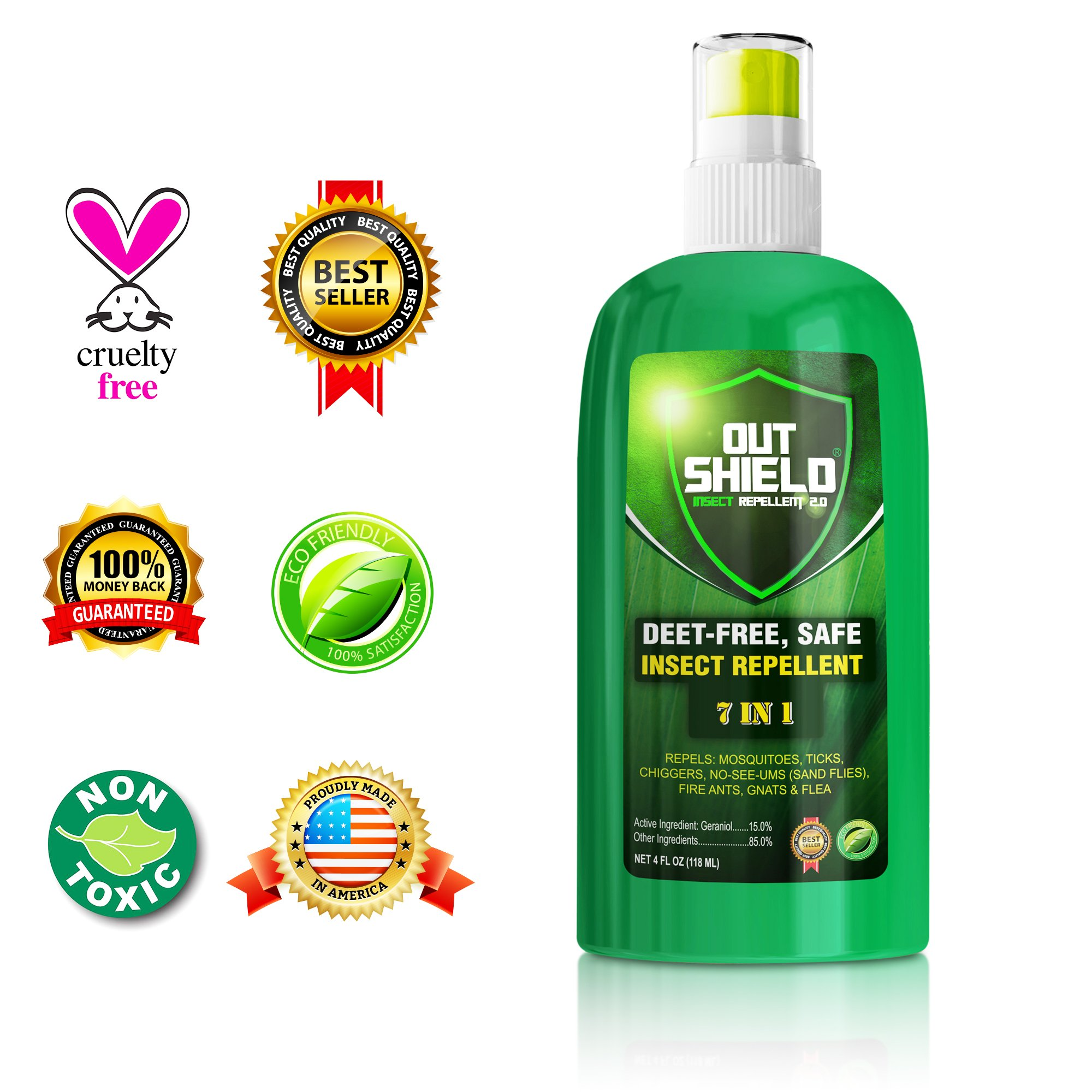 Insect Repellent Mosquito Repel Bugs Off Spray Protection - 7 In 1 Natural De.. 14