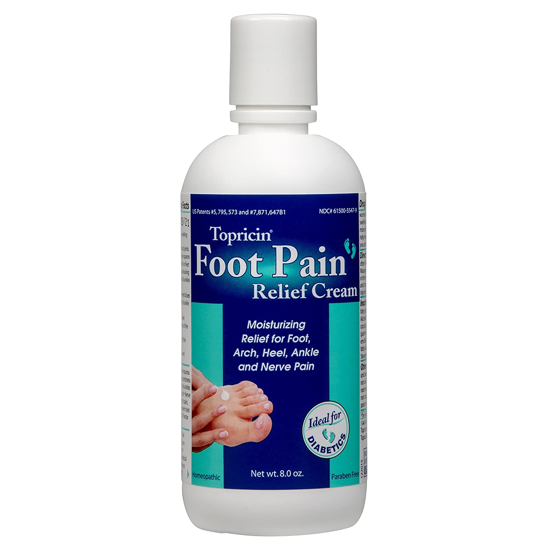 Topricin Foot sollievo dal dolore crema (113, 4gram) 609863057048