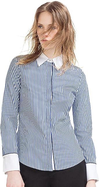 Zara - Camisa Rayas, Talla XS: Amazon.es: Ropa y accesorios