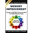 Memory Improvement Next-Gen: Memory Improvement for Success in Business, Career and Work for Highly Effective People