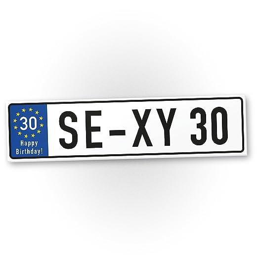 DankeDir!. Sexy Cartel de 30 años de plástico años - Regalo ...