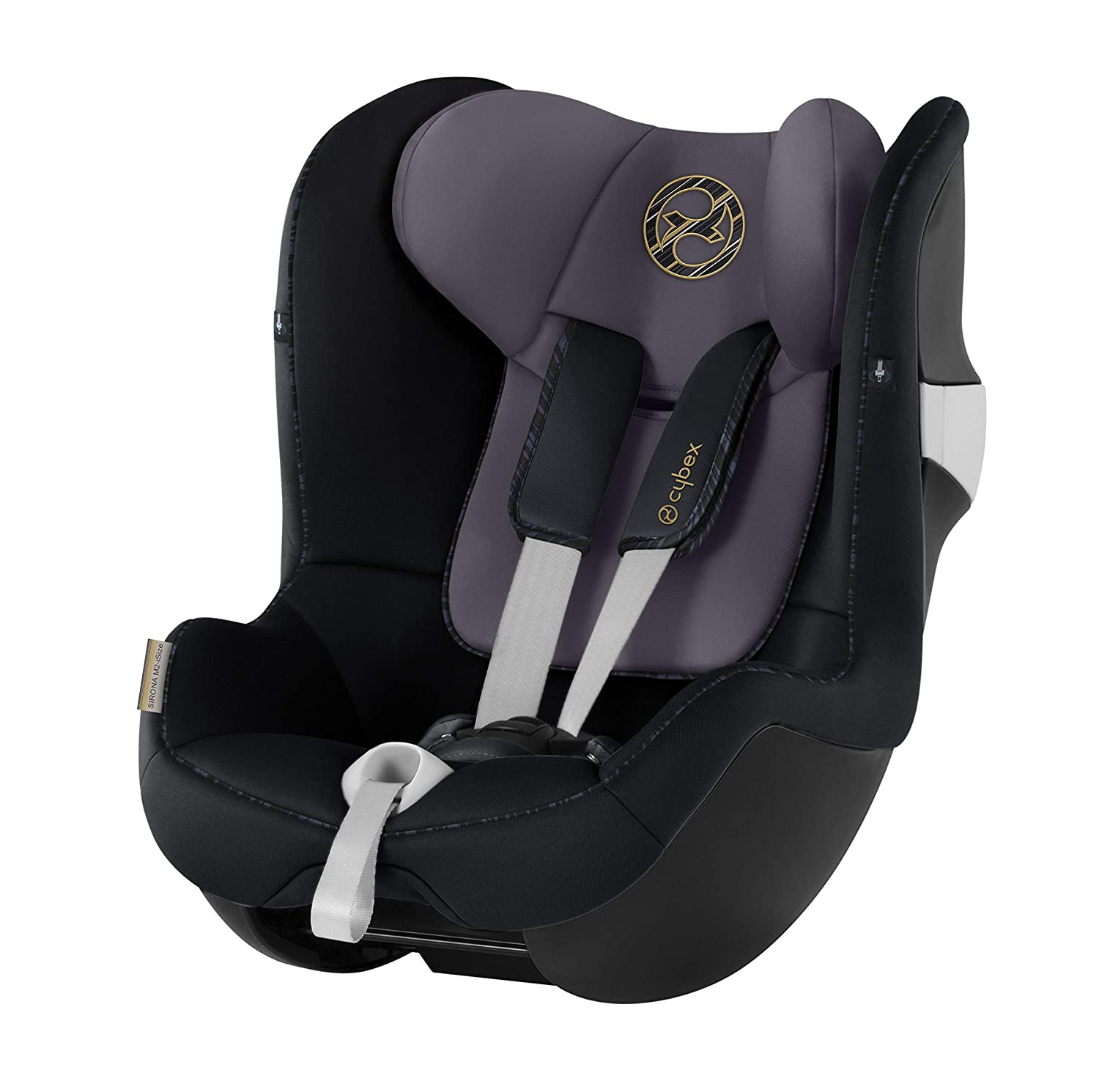 Premium Black CYBEX Gold Sirona S i-Size Car Seat with 360/° Swivel Mechanism and ISOFIX 105 cm Height From Birth to approx 4 Years Up to Max
