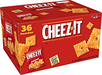 36-Pk Kellogg's Cheez-It Baked Snack Crackers