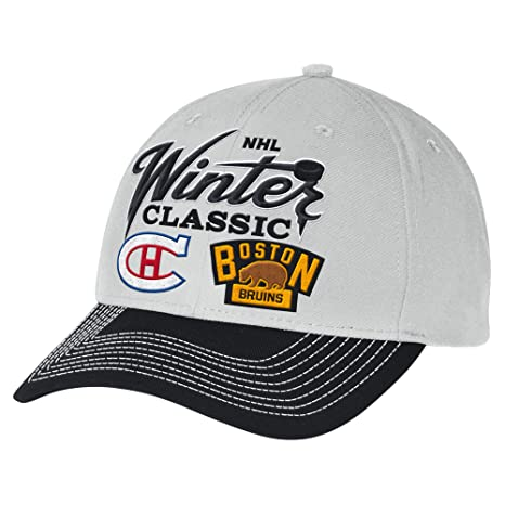 d1ae1981050 Image Unavailable. Image not available for. Color  NHL Winter Classic Men s  Dueling Structured Adjustable Hat ...