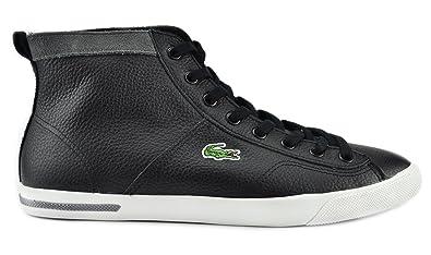 880dd3c37 Lacoste Ramer Mid AGW SPW SDE Men s Shoes Black Dark Grey Black Dark Grey