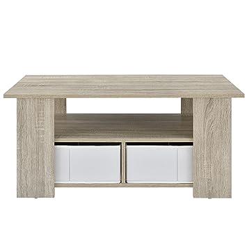[en.casa] Mesa de centro (90 x 50 x 41 cm)