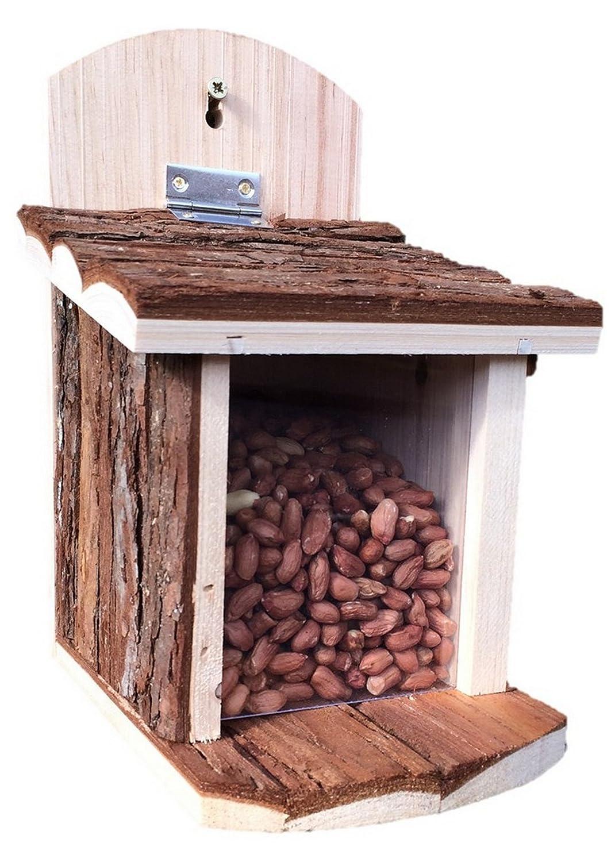 Mangeoire pour é cureuils marron de Greenkey Garden & Home 699 Greenkey Garden & Home Ltd
