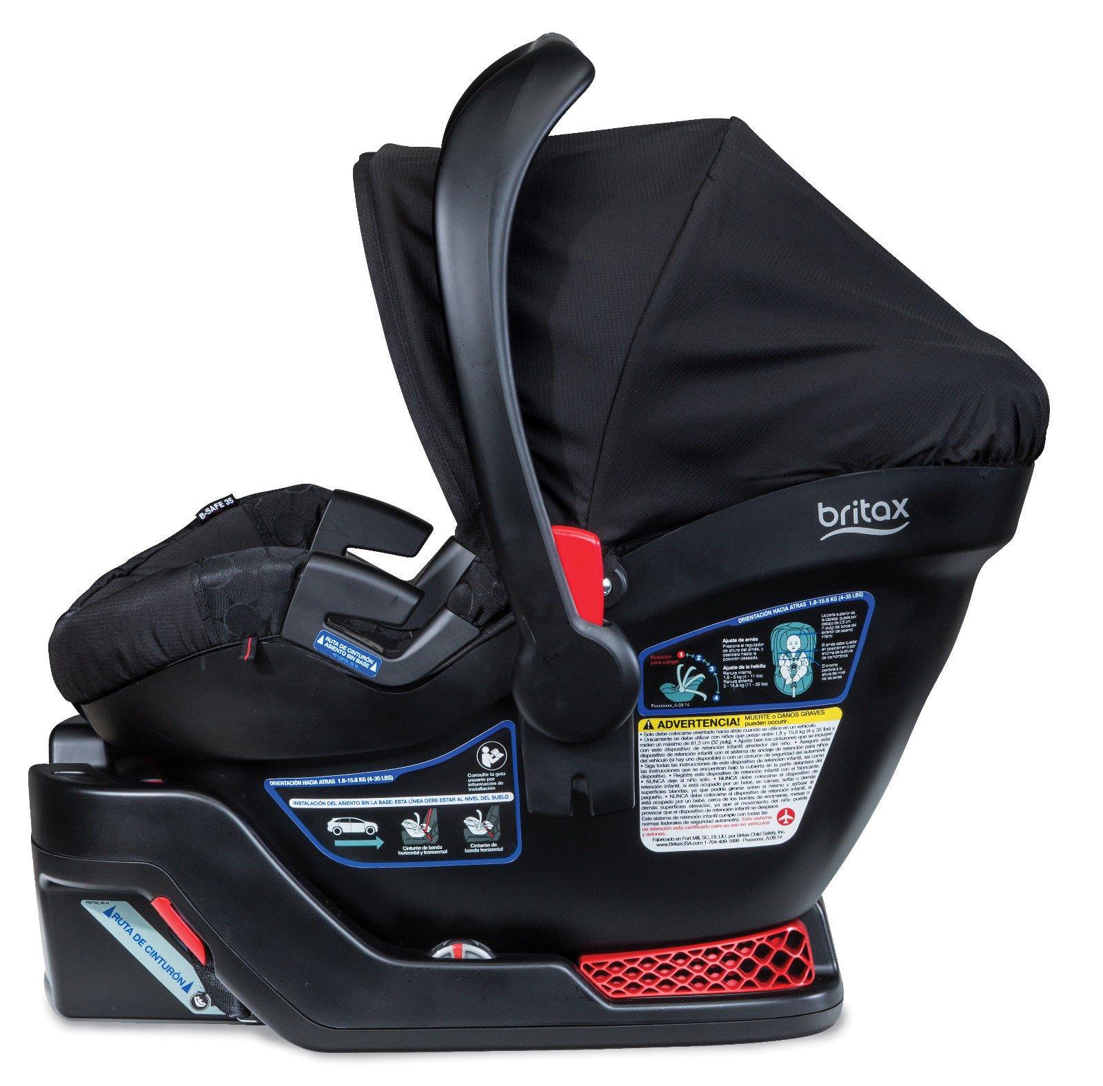 Britax 2015 B Agile 3 & B Safe 35 Travel System, Black