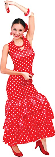 Guirca- Disfraz adulta flamenca, Talla 38-40 (80629.0): Amazon.es ...