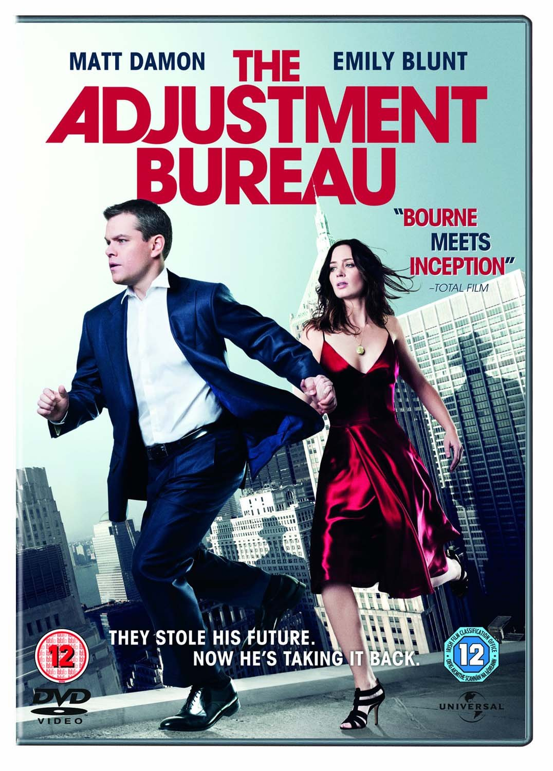 Amazon.com: The Adjustment Bureau [DVD] [2011]: Matt Damon, Emily ...
