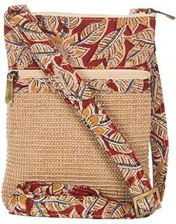 Jute Cottage Women's Dobby Sling Bag: Amazon.in: Shoes & Handbags
