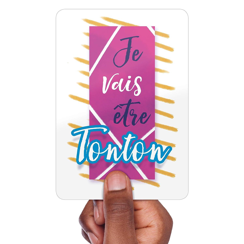 Je vais /être Tonton Carte Annonce Grossesse Une jolie photo pour une belle Surprise au Futur Tonton