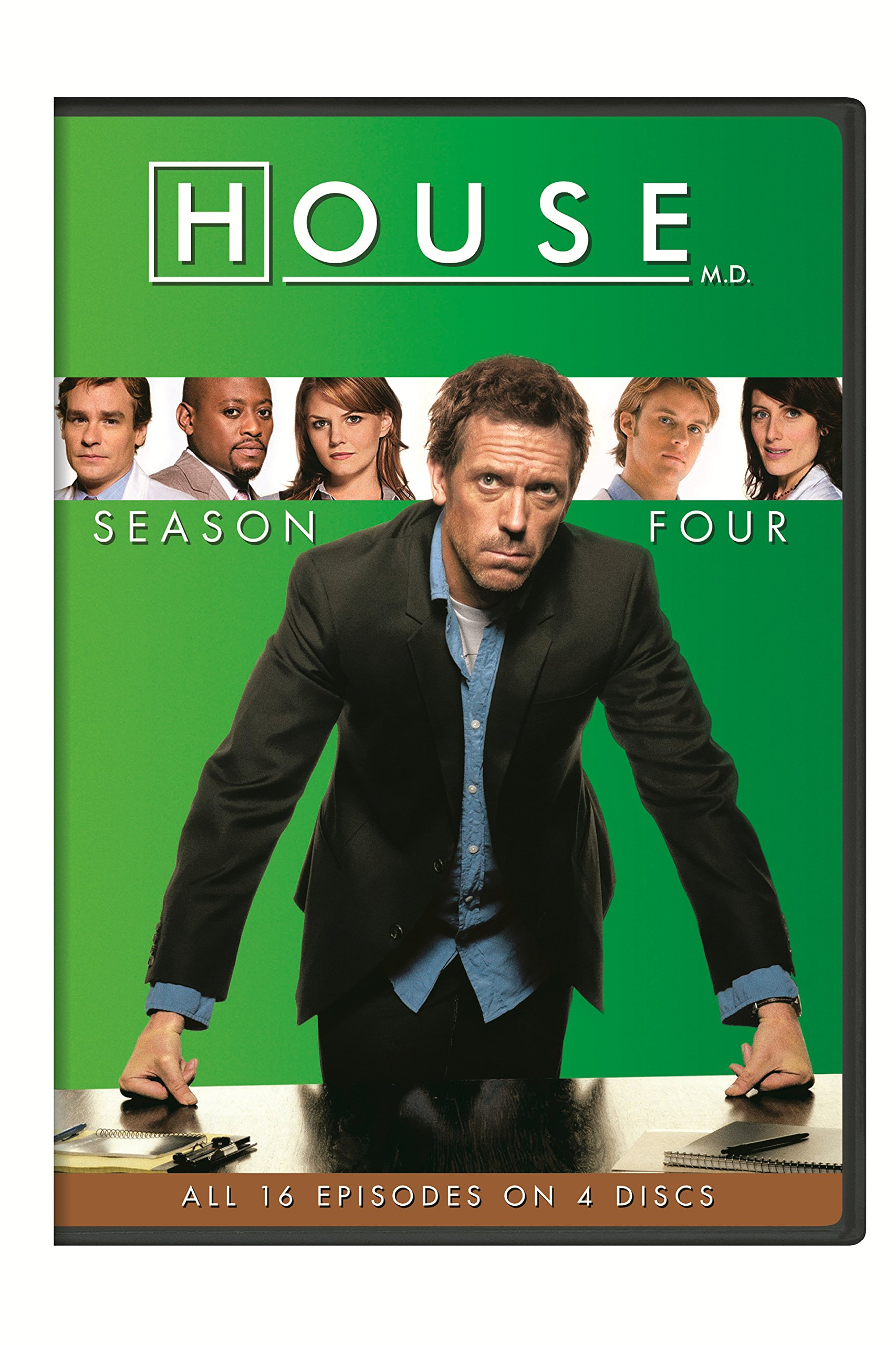 DVD : House: Season Four (Boxed Set, Snap Case, 4 Disc)