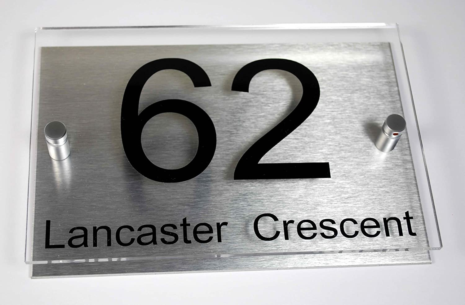 Modern led house numbers uk for House numbers
