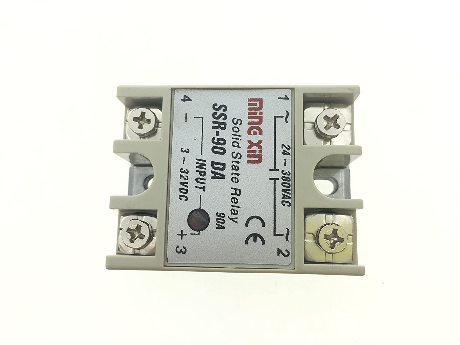 Yxq Solid State Relay Small Ac Exchange Type Electronic Controller Switch Ssr 100da