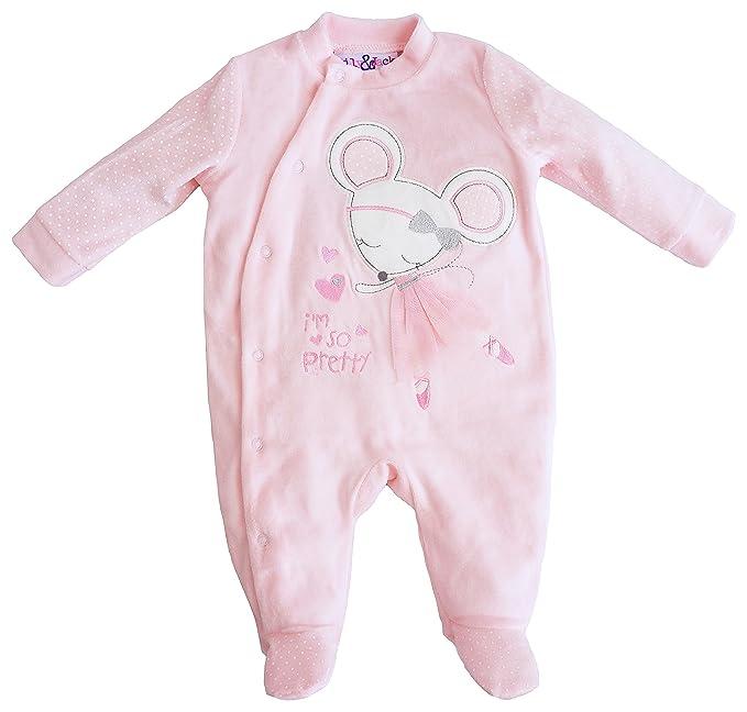 Jack and Lily - Pelele - para bebé niña Rosa: Amazon.es: Ropa y accesorios