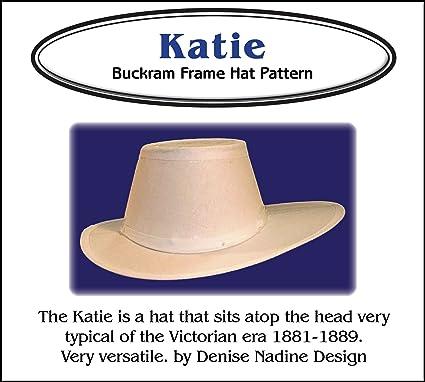 Amazon.com  Sewing Pattern - Katie Hat Pattern - 1881-1889 Victorian ... 625f4db8d44