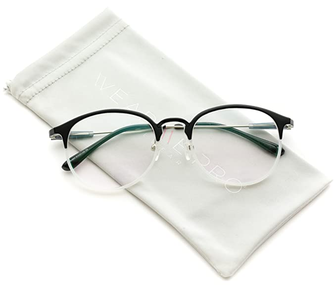 Amazon.com: WearMe Pro - Duo Color Black White Round Optical Quality ...