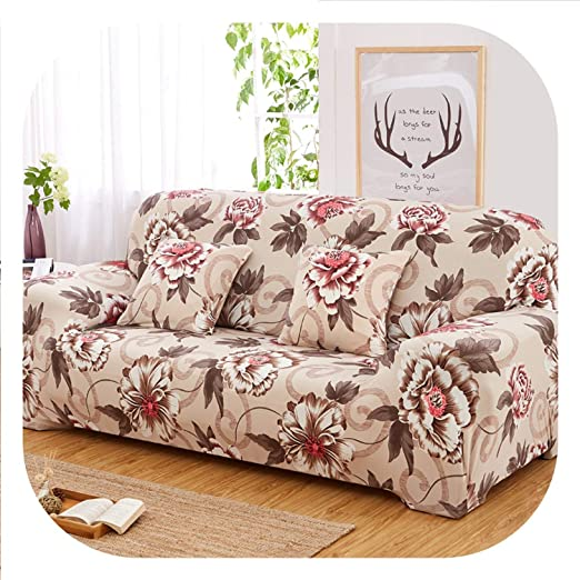 New face Fundas elásticas universales para sofá con diseño ...
