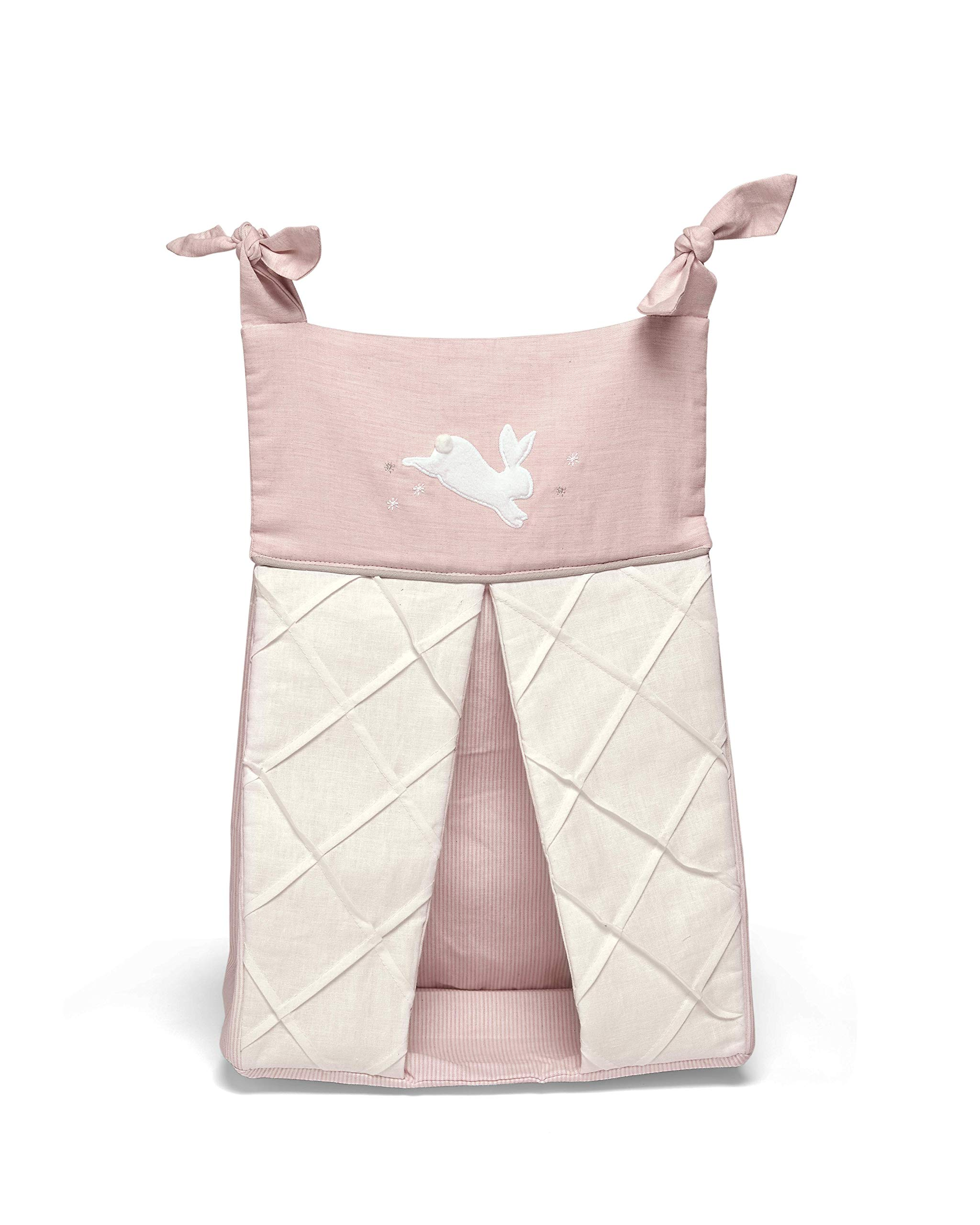 Mamas & Papas Nappy Stacker, Nursery Accessories - Welcome to The World Pink by Mamas & Papas (Image #2)