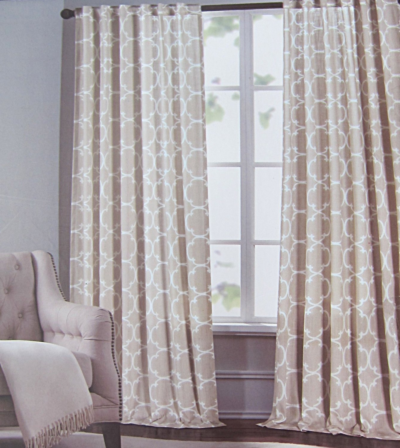 product home ivory jacquard blue fabrics magdelena panels panel garden curtain faux curtains silvertone exclusive silk