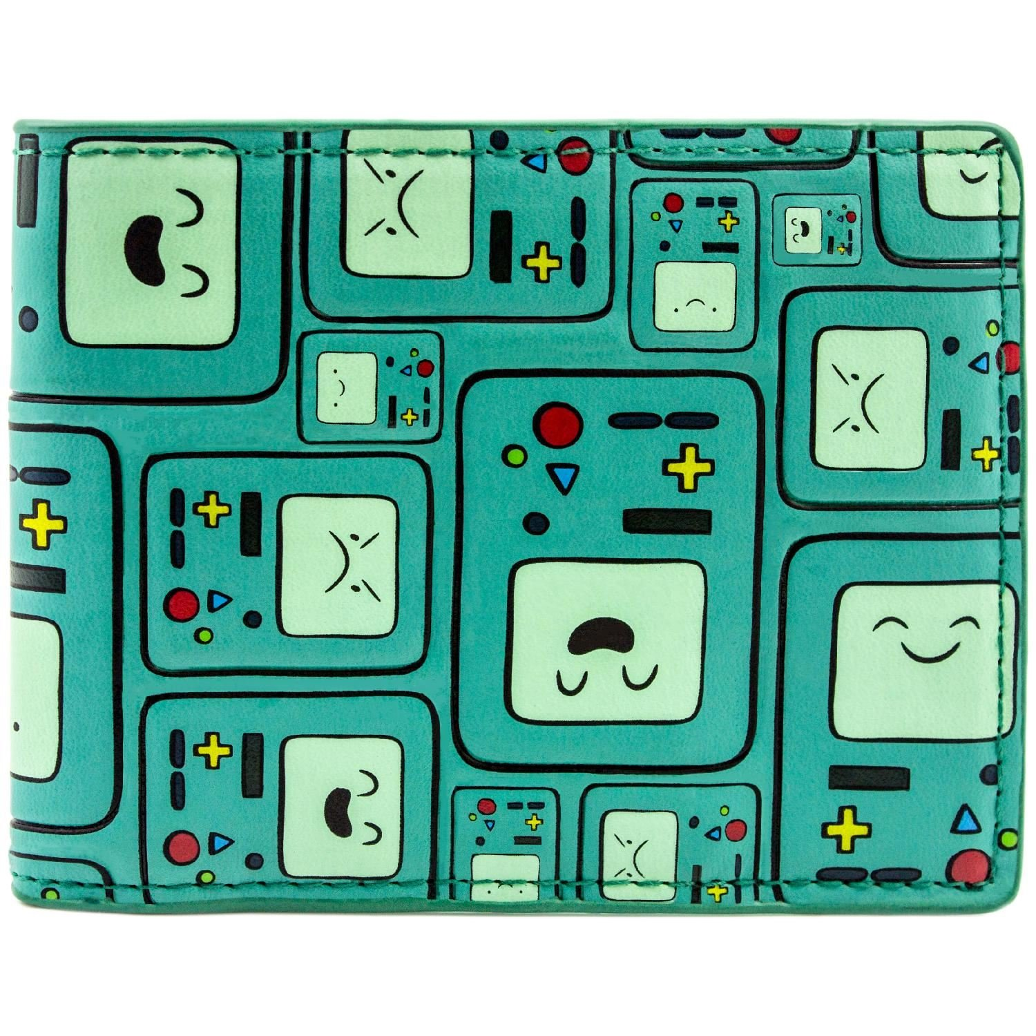Cartoon Network Adventure Time BMO Patterned Vert Portefeuille 27139