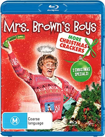 mrs browns boys more christmas crackers non usa format region b import