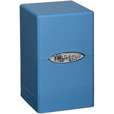 Ultra Pro Light Blue Satin Tower Deck Boxes: Toys & Games