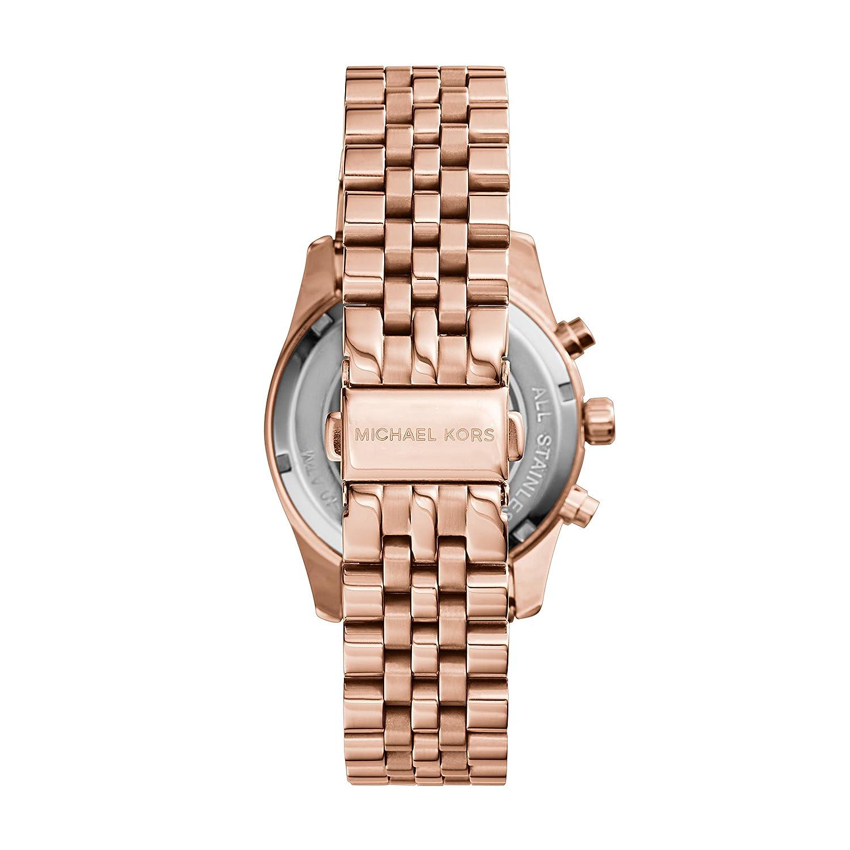 01d7fb15814a Amazon.com  Michael Kors Women s MK5569 Lexington Rose Gold-Tone Stainless  Steel Watch  Michael Kors  Watches