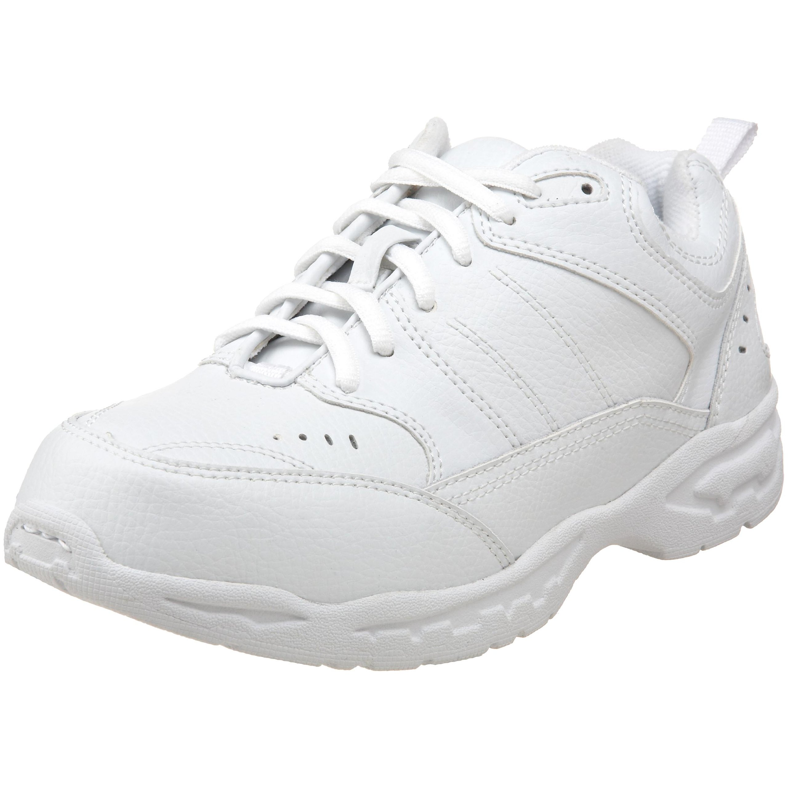 School Issue 3200 Lace Up Athletic Shoe (Toddler/Little Kid/Big Kid),White,11 M US Little Kid