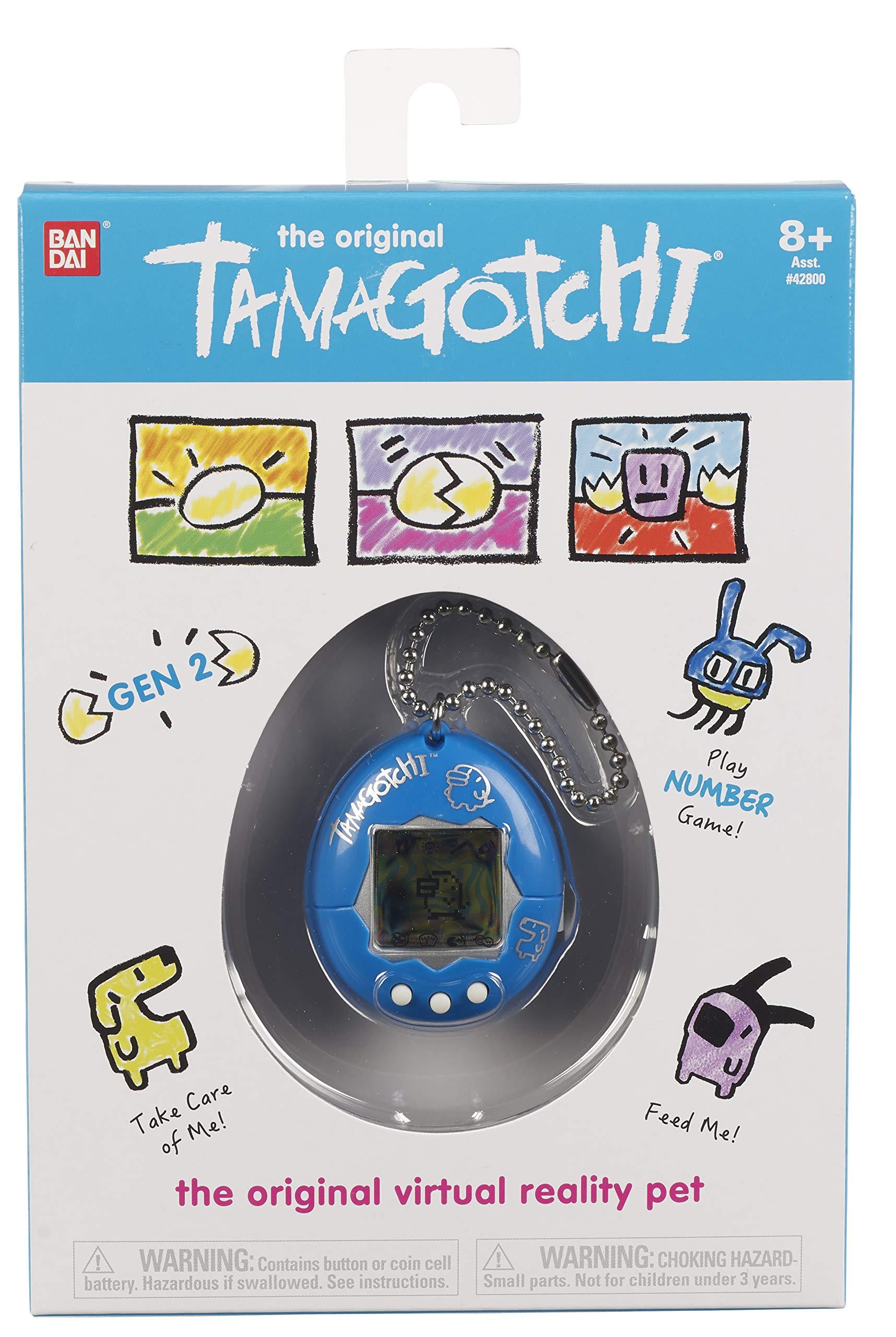 Tamagotchi Electronic Game, Blue/Silver by Tamagotchi (Image #2)