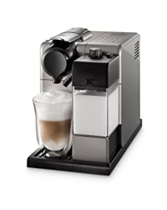 Nespresso Lattissima Touch Original Espresso Machine with Milk Frother by De'Longhi, Silver