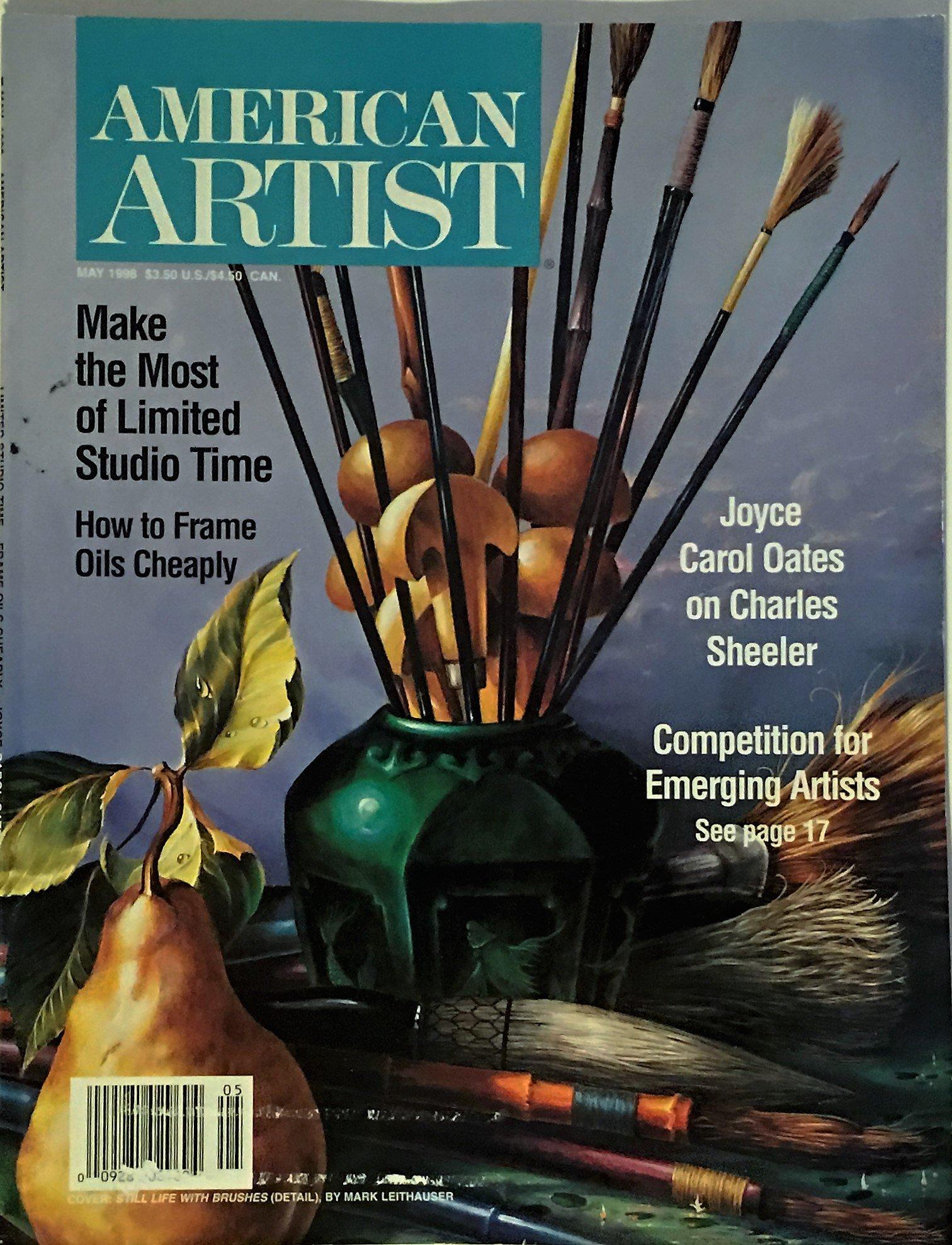 American Artist Magazine May 1998 Volume 62 Issue 670 Amazon Com Books