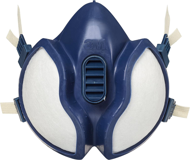 3M 4251 Respirador, Especial pintura/barniz, Azul