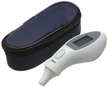 QUMOX Ear Temperatura LCD Digital de Infrarrojos Medical bebé adultos Termómetro seguro: Amazon.es: Salud y cuidado personal
