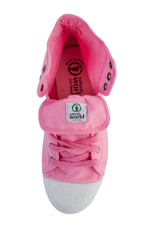Natural World Damen Bota vegane Sneaker High Rosa  Amazon.de  Schuhe    Handtaschen 9823ab8924