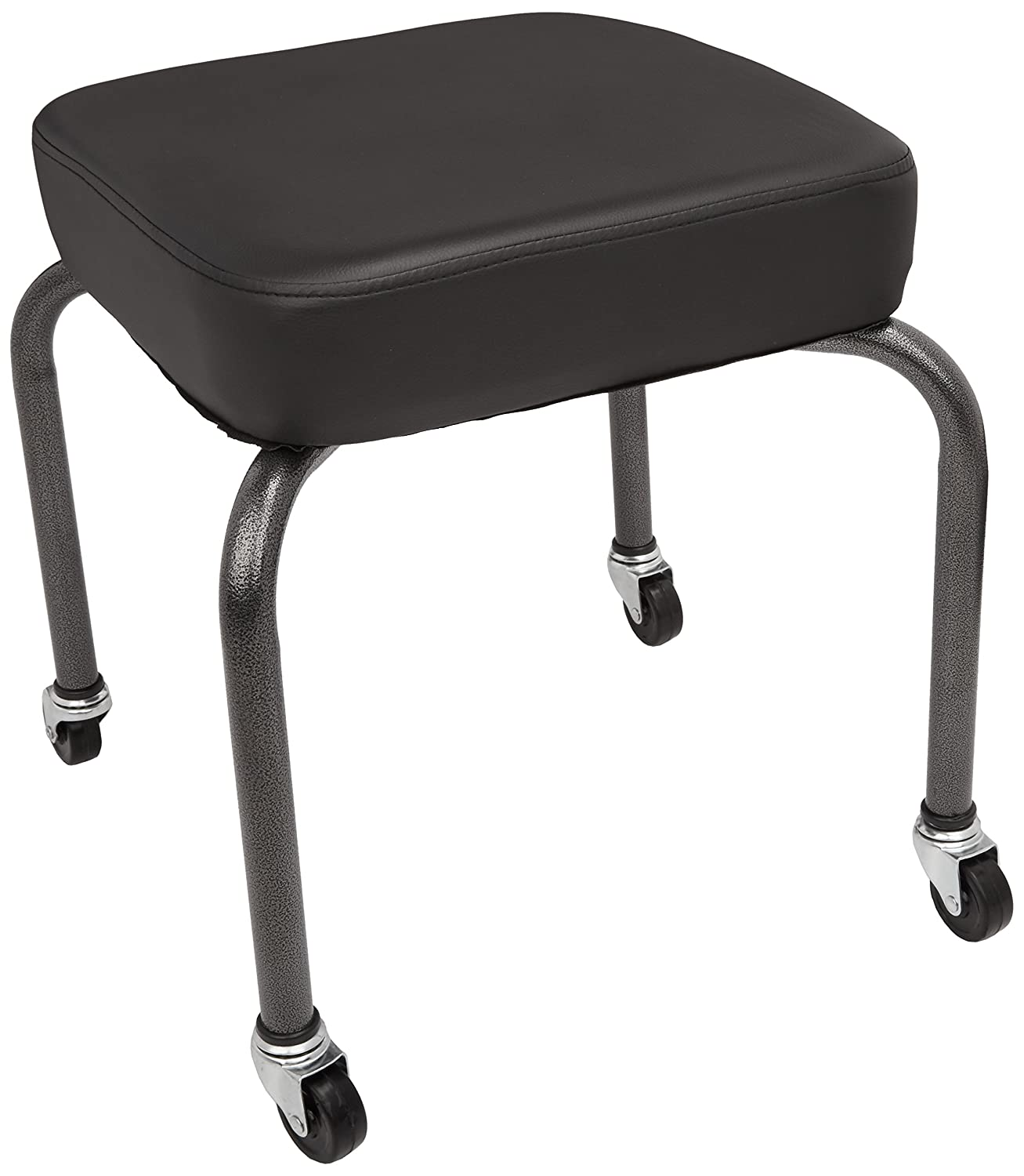 Sammons Preston Square Therapy Stool, Black, Cushion Seat for Office, Clinical, or Home Use, Comfortable Seat Design for Back, Spine, Lower and Upper Lumbar Support, Foam Padding for Support 081505395