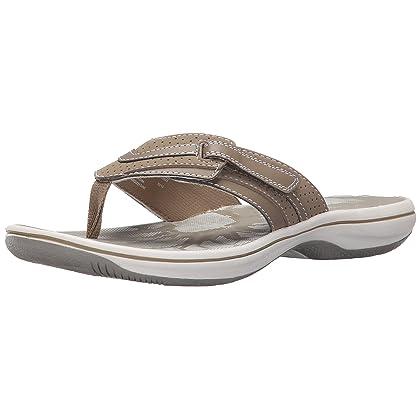 da7fa45779ebef CLARKS Women s Brinkley Keeley Flip Flop
