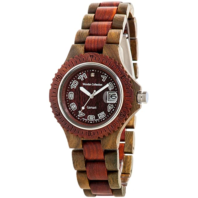 Tense Wood wrist watch